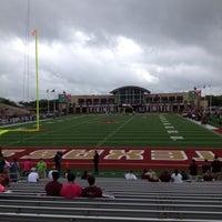 Photo taken at Bobcat Stadium by Randy J. on 9/29/2012