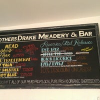 Photo taken at Brothers Drake Meadery by Gwen F. on 10/13/2012