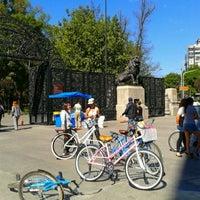 Photo taken at Puerta de los Leones by Miriposa G. on 2/24/2013