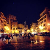 Photo taken at Campo de' Fiori by Antonio P. on 4/18/2013