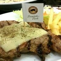Photo taken at Santa Fe' Steak by ●PALM● P. on 7/5/2016