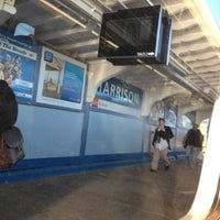 Photo taken at PATH - Harrison Station by Sexy C. on 10/11/2012