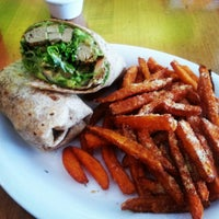Photo taken at Veggie Grill by Francisco on 7/6/2013