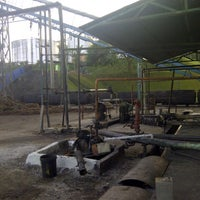 Photo taken at KualaPertang Palm Oil Mill by Wock M. on 2/9/2013