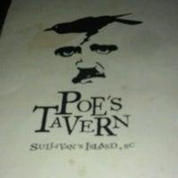 Photo taken at Poe's Tavern by elizabeth v. on 11/10/2012