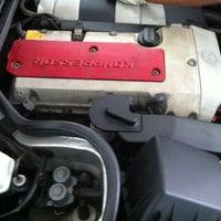 Photo taken at Merc Energy Auto Garage (Bangi) Sdn. Bhd. by BT I. on 10/20/2012