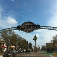 Photo taken at Third Ave Sign by Monica F. on 3/18/2013