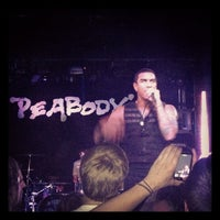 Photo taken at Peabody's Concert Club by Kevin S. on 11/7/2012