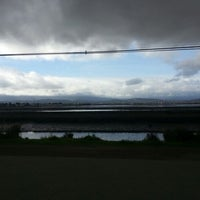 Photo taken at Bedwell Bayfront Park by Jonathan Y. on 11/20/2012