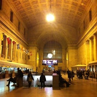 Photo taken at Union Station (YBZ) by Irina S. on 12/14/2012