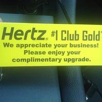 Photo taken at Hertz Rental Car by Ken B. on 5/2/2013