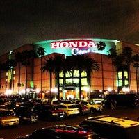 Photo taken at Honda Center by Ibrahim S. on 2/19/2013