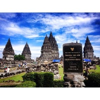 Photo taken at Candi Prambanan (Prambanan Temple) by Cahya Y. R. on 6/16/2013