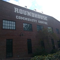 Photo taken at Roundhouse Community Centre by Bob on 9/10/2016