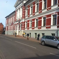 Photo taken at Liepājas pilsētas dome by Kaspars T. on 4/17/2014