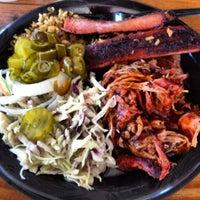Photo taken at Gatlin's BBQ by Pork D. on 5/8/2013