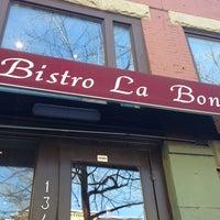 Photo taken at Bistro La Bonne by Toby P. on 3/10/2013