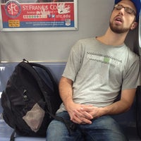 Photo taken at MTA Subway - Middle Village/Metropolitan Ave (M) by J D. on 10/4/2012