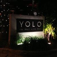 Photo taken at YOLO by Austin B. on 12/28/2012