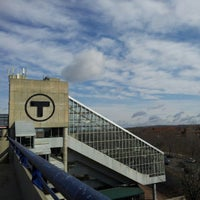 Photo taken at MBTA Alewife Station by Amy P. on 4/3/2013