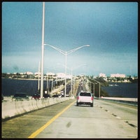 Photo taken at Eau Gallie Causeway by Kurt P. on 2/20/2013
