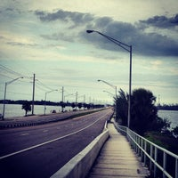 Photo taken at Eau Gallie Causeway by Kurt P. on 5/19/2013