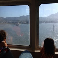 Photo taken at Golden Gate Larkspur Ferry Terminal by Vicky B. on 7/20/2013