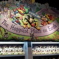 Photo taken at Disney Store by Alison G. on 4/17/2014