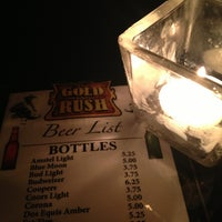 Photo taken at The Gold Rush by Isabel R. on 1/26/2013