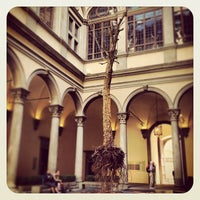 Photo taken at Palazzo Strozzi by Rieta A. on 5/19/2013