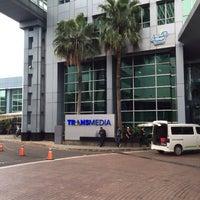 Photo taken at PT. Televisi Transformasi Indonesia (Trans TV & TRANS7) by Irvan e. on 11/30/2016