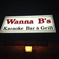 Photo taken at Wanna B's Karaoke Club & Restaurant by Kira T. on 3/14/2015