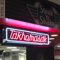 Photo taken at Steak 'n Shake by Brent A. on 12/24/2015