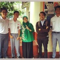Photo taken at Pelita Nusantara Secondary School by Rita A. on 10/10/2016