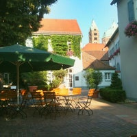 Photo taken at Hotel Domhof Speyer by Thomas S. on 7/16/2013
