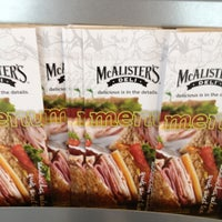 Photo taken at McAlister's Deli by Teresa Gibbons B. on 10/17/2012