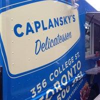 Photo taken at Caplansky's Food Truck by Izabela M. on 3/19/2013