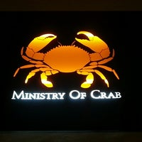 Photo taken at Ministry Of Crab by Sebastian Z. on 12/8/2012