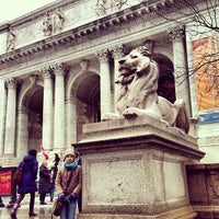 Photo taken at New York Public Library by Rodrigo D. on 4/9/2013