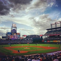 Photo taken at Coors Field by Jarrod P. on 5/19/2013