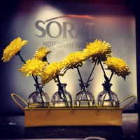 Das Foto wurde bei SORAT Hotel Cottbus von Ellen B. am 4/21/2013 aufgenommen