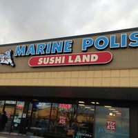 Photo taken at Marinepolis Sushi Land by Katrina C. on 3/21/2013