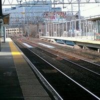 Photo taken at Stamford Transportation Center Bus/Train (STM) Metro North & Amtrak by Dana on 3/31/2013