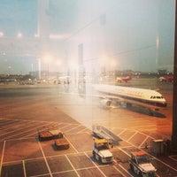 Photo taken at Guangzhou Baiyun International Airport (CAN) by Nicky K. on 3/19/2013