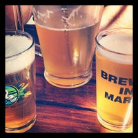 Photo taken at Marin Brewing Company by Alexandra F. on 9/16/2012