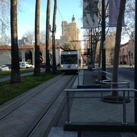 Photo taken at VTA Lightrail North Saint James Station by David M. on 2/13/2013