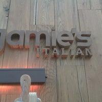 Photo taken at Jamie's Italian by Simona K. on 8/22/2013