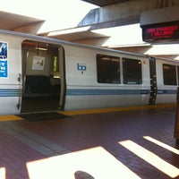 Photo taken at El Cerrito Plaza BART Station by Adrianne S. on 4/17/2013