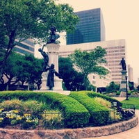 Photo taken at Lafayette Square by Martin E. on 4/25/2013