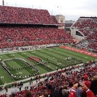 Photo taken at Ohio Stadium by Beth W. on 11/3/2012